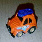 Hobby Car no a-16 Citroen 2CV  TAKARA pull-back car 80'S @SOLD@